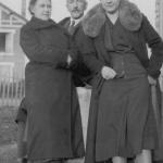 Э.Н. Бакунина, А.И. Бакунин, Т.А. Осоргина. 40-е годы. Сен-Женевьев-де-Буа