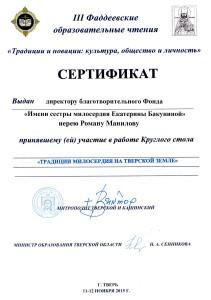 Фаддеевские чтения - участие